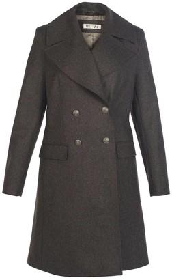 Muza Double-Breasted Wool Coat