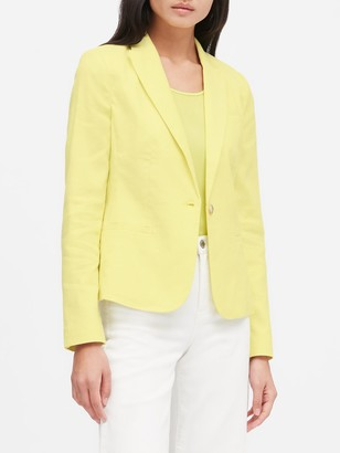 Banana Republic Classic-Fit Linen-Cotton Blazer