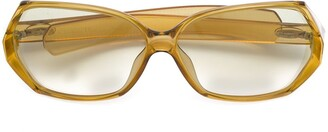 Christian Dior Pre-Owned oversized acetate sunglasses