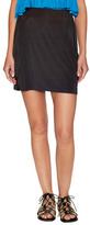 T-Bags LosAngeles Side Draped Mini Skirt