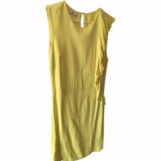 MANGO Yellow Dress for Women