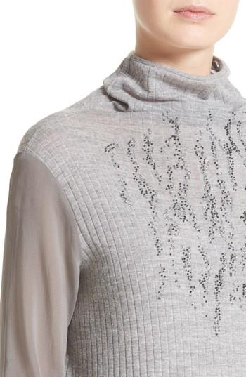 Fabiana Filippi Women's Sequin Wool Turtleneck
