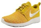 Nike Rosherun Flyknit Round Toe Synthetic Sneakers.