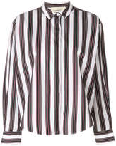 Ports 1961 striped fitted shirt