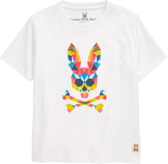 Psycho Bunny Kidd Logo Graphic Tee