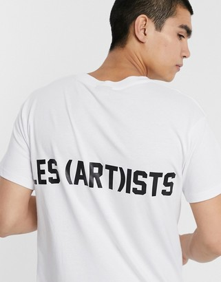 Les (Art)ists Essential t-shirt in white