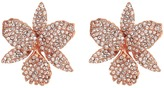 Nina Pave Large Orchid Earrings Earring