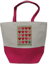 Beaux Maison Decor Totebags Multi - Pink & Gray 'All You Need Is Love' Pet Accessory Tote