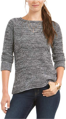 Style&Co. Style & Co Crewneck Marled Sweater