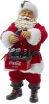 Kurt Adler Coke-Drinking Santa Figurine