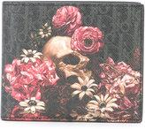 Christian Dior floral print cardholder - men - Leather - One Size