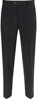 John Lewis Silk And Linen Suit Trousers, Navy