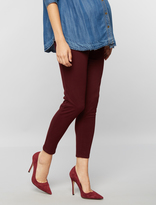 A Pea in the Pod Secret Fit Belly Sateen Skinny Ankle Maternity Pants