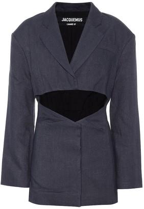 Jacquemus La Veste Arles linen-blend jacket