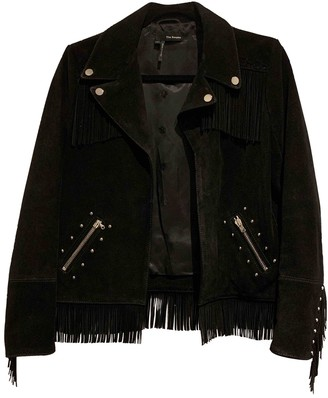 The Kooples Black Suede Leather jackets