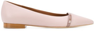 Malone Souliers Pointed Ballerina Flat