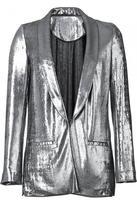 Silver Metallic Lame Jacket