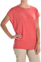 Icebreaker Aria Tunic Shirt - Merino Wool, UPF 20+, Short Sleeve (For Women)