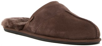 Leisure Suede UGGpure Faux Shearling Lined Slide Slipper