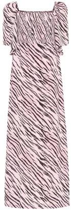 Baum und Pferdgarten Exclusive to Mytheresa a Atena tiger-print maxi dress