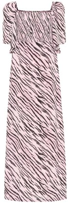 Baum und Pferdgarten Exclusive to Mytheresa Atena tiger-print maxi dress