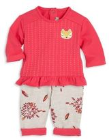 Catimini Baby's & Toddler Girl's Two-Piece Top & Pants Set