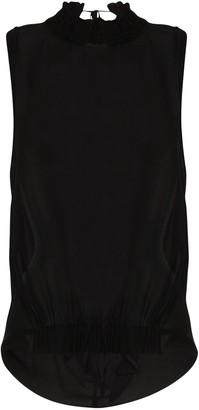 Ann Demeulemeester Mclottie sheer blouse