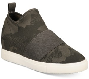 Material Girl Quila Sock Wedge Sneakers, Created for Macy's Women's Shoes