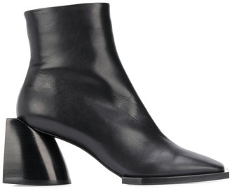 No.21 Square Toe Ankle Boots