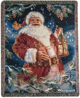 "Bed Bath & Beyond ""Enchanted Christmas"" Tapestry Square Throw Pillow"