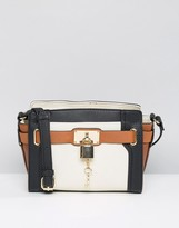 Aldo Tote Bag with Lock Detail