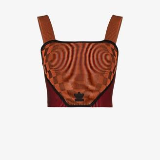 adidas X Paolina Russo corset top