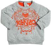 Kenzo Embroidered Doubled Cotton Sweatshirt