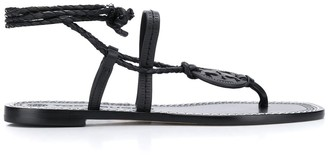 Tory Burch Miller ankle-wrap sandals
