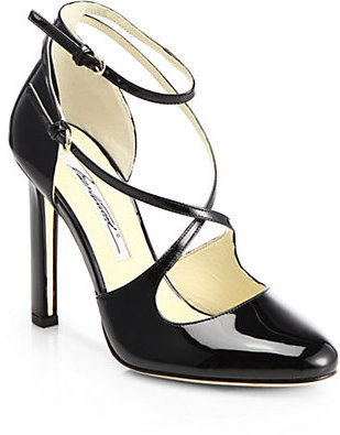Brian Atwood Peyton Patent Leather Pumps