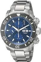 Edox Men's 01114 3M BUIN Chronoffshore Analog Display Swiss Automatic Silver Watch