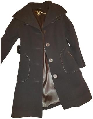 Mackage Black Wool Jacket for Women