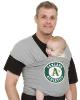 Moby® MLBTM Edition Wrap Baby Carrier Oakland Athletics in Navy