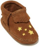 Minnetonka Infant's Riley Leather Fringe Bootie