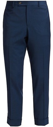 Saks Fifth Avenue MODERN Cuffed Trousers