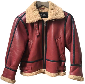 Nasty Gal Red Synthetic Coats