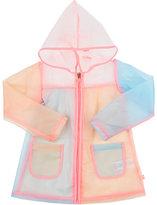 Billieblush Transparent Colorblocked Raincoat