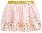 Hello Kitty Metallic-Print Skirt, Toddler Girls (2T-5T) & Little Girls (2-6X)