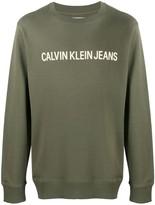 Calvin Klein Jeans long sleeve logo sweater
