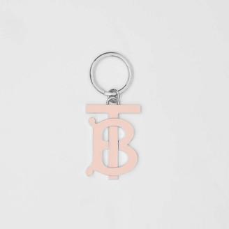Burberry Monogram Motif Palladium-plated Key Charm