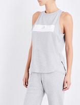 adidas by Stella McCartney Essentials Logo cotton-jersey top