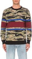 Diesel S-Pon-Camu jersey sweatshirt