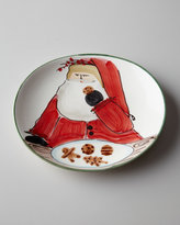 "Vietri Old St. Nick"" Cookie Plate"