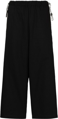Y-3 CH3 cotton trousers