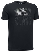 Under Armour Boys' World Class Tech Tee - Big Kid